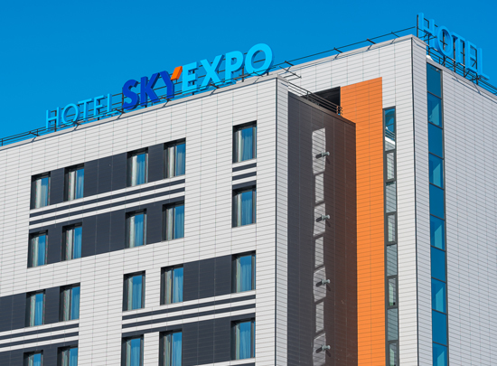3-star hotel for 199 rooms within the International Exhibition Center «Novosibirsk Expocentre»